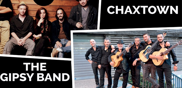 Talents Musique : Eye + Chaxtown + The Gipsy Band